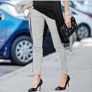 CaBi Windowpane Checkmate Trouser Pants